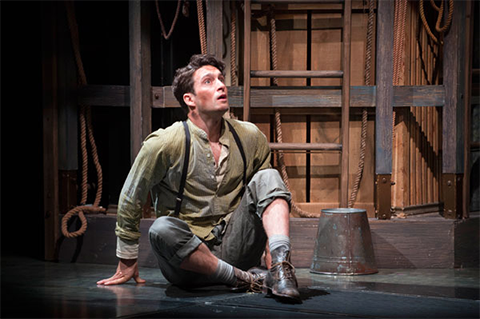 Charlie Gallant as Boy in Peter and the Starcatcher.