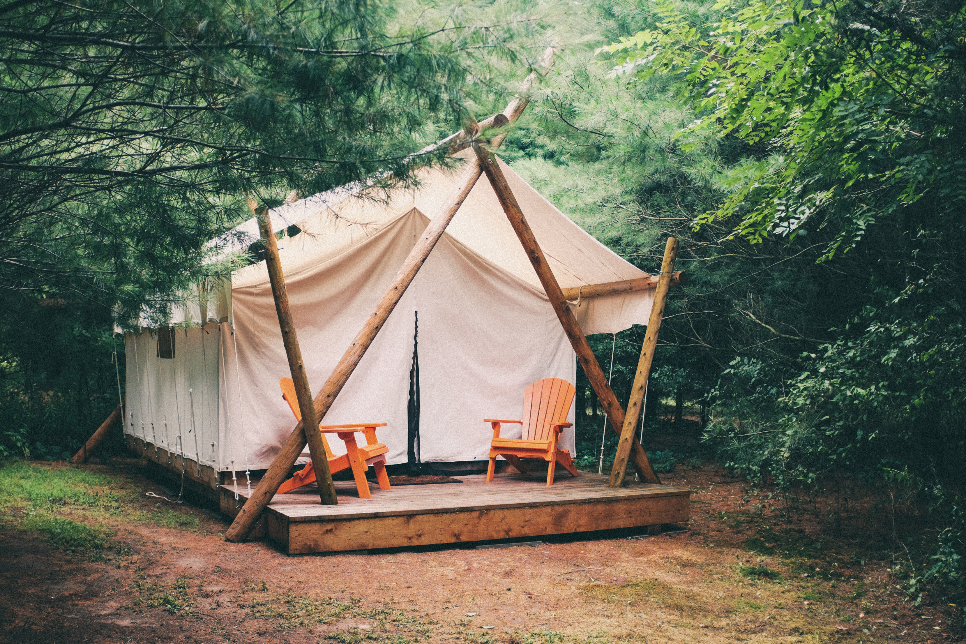Falling for Glamping